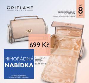 Mimořádná nabídka Oriflame 8/2018